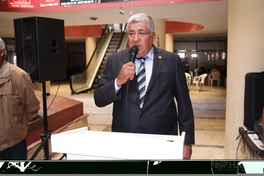 CHP İlçe Başkanlığına Abdullah Akbaba adaylığını açıkladı