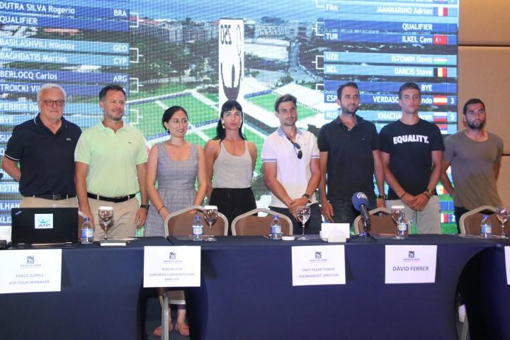 Antalya Open ATp Tenis turnuvası başlıyor