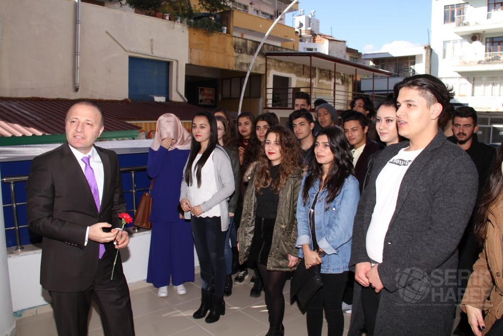 Akdeniz Üniversitesi Rektörü Mustafa Ünal Serik'te