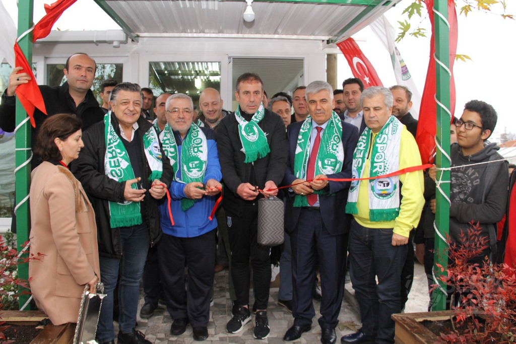 Serik Belediyespor Taraftar Kıraathanesi Açıldı
