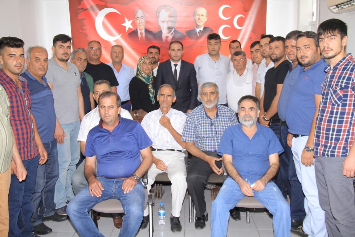 Serik MHP İlçe Teşkilatında Bayramlaşma