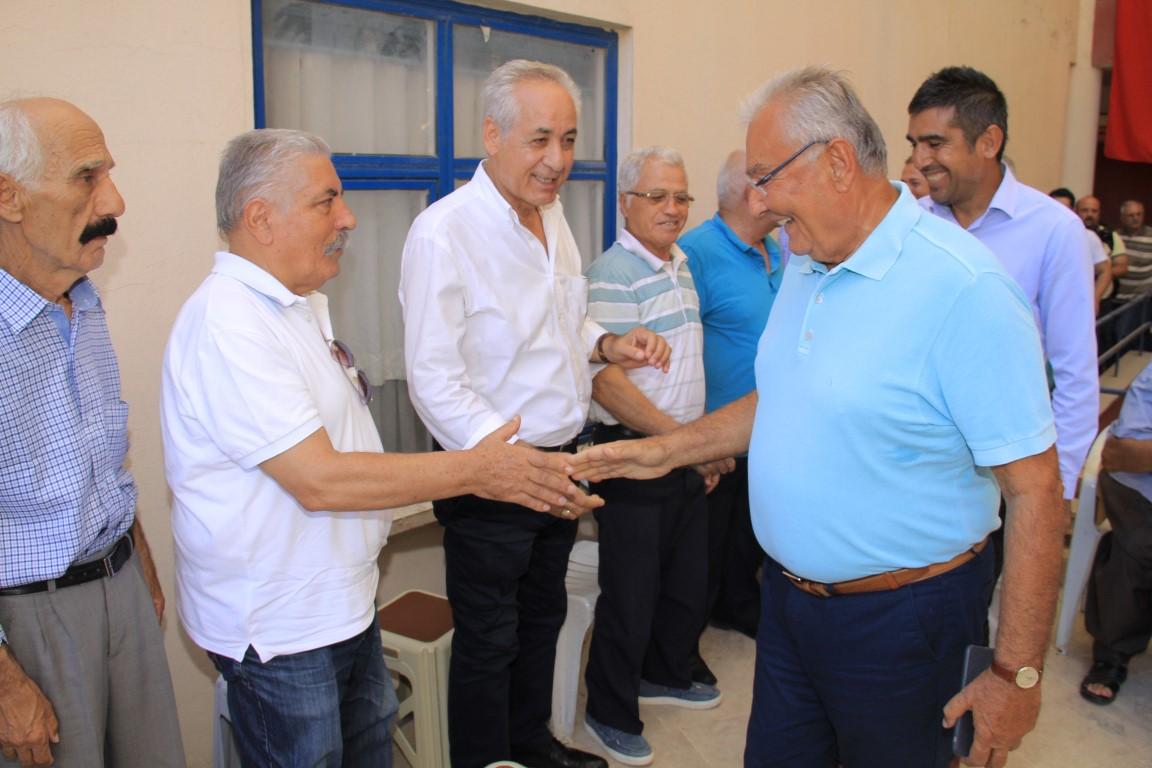 Serik CHP İlçe Teşkilatında Baykal'lı Bayramlaşma