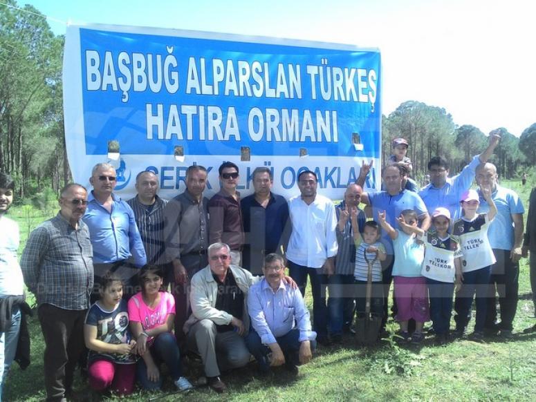 Serik Ülkü Ocaklarından Başbuğ Alparslan Türkeş Anısına Hatıra Ormanı