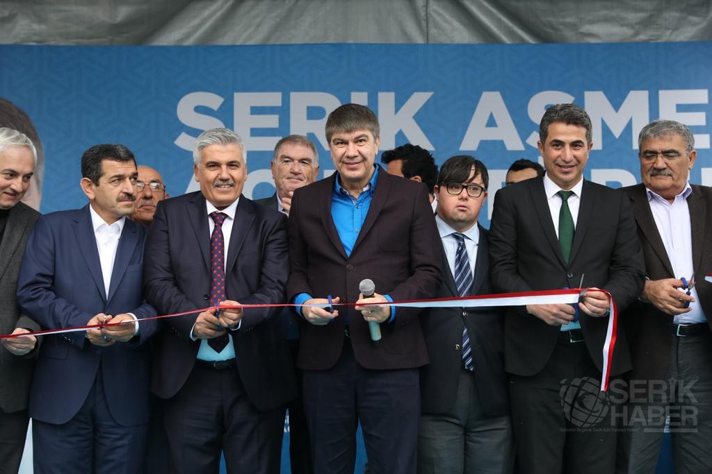 Menderes Türel, Serik'te ASMEK'in açılışını yaptı