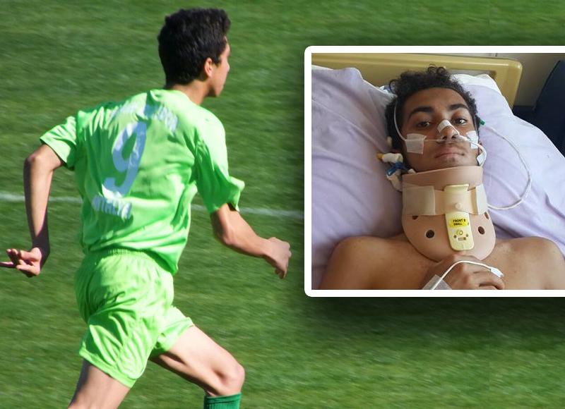 Genç Futbolcu Hayati Tehlikeyi Atlattı